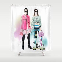 Streetstyle no 7 Shower Curtain
