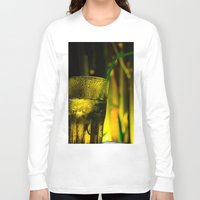 cocktail Long Sleeve T-shirts featuring cocktail glass by Eduard Leasa Photography