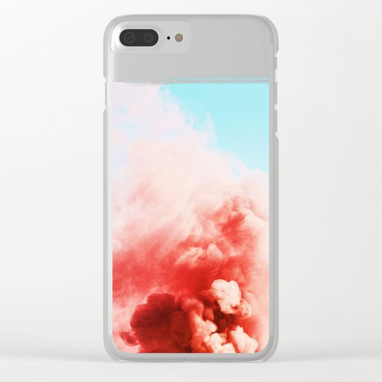 Candy Smoke #society6 #decor #buyart Clear iPhone Case