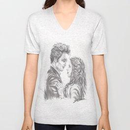 Twilight - Edward & Bella Unisex V-Neck