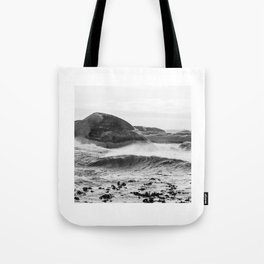 Wave Rushing In Tote Bag