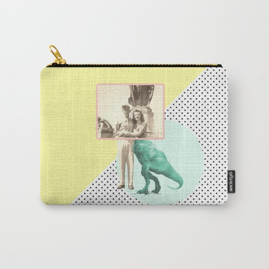 Who would like to date a t-rex Carry-All Pouch