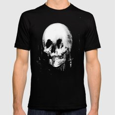 All Is Vanity: Halloween Life, Death, and Existence Black LARGE Mens Fitted Tee