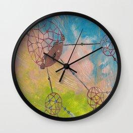 Dream-weaver Wall Clock