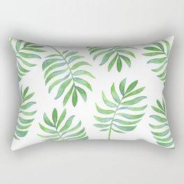 Tropical Palm Leaf Rectangular Pillow