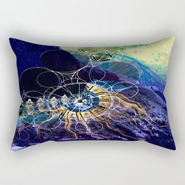 Perception Of Time Rectangular Pillow