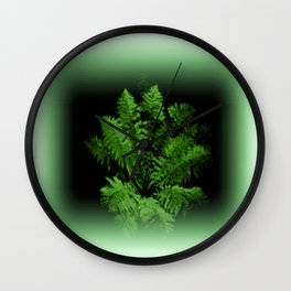 Fern from 30 metres Above! Wall Clock