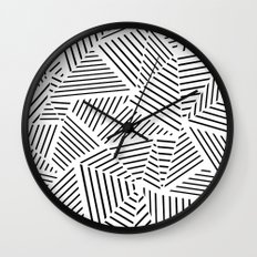 Ab Linear Zoom W Wall Clock