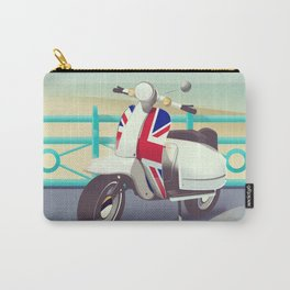 Brighton Union Scooter travel poster, Carry-All Pouch