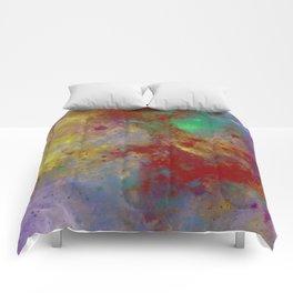 Through The Haze Of Colour Comforters
