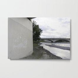 River + chalk Metal Print