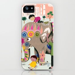 India iPhone Case