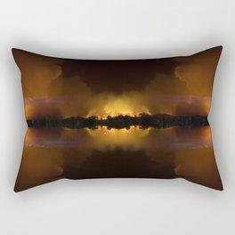 Engulfed Rectangular Pillow