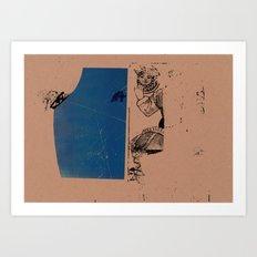 30x100 3 Art Print