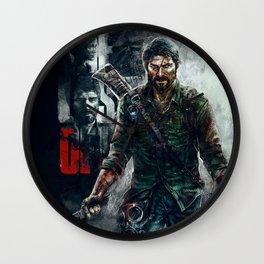 Joel - The Last of Us Wall Clock