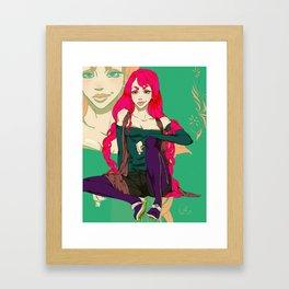 Stella aka Steel Framed Art Print