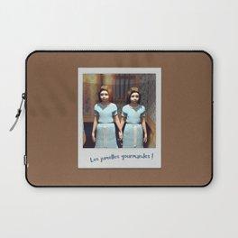 Les jumelles gourmandes ! Laptop Sleeve