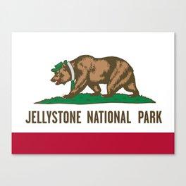 Jellystone National Park  Canvas Print