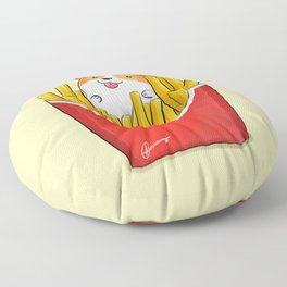 French Corgi Fries Floor Pillow