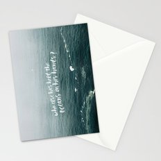 HELD THE OCEANS? Stationery Cards