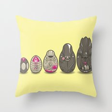 Xenomatryoshka Throw Pillow