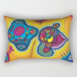Dream Formations Courting Rectangular Pillow
