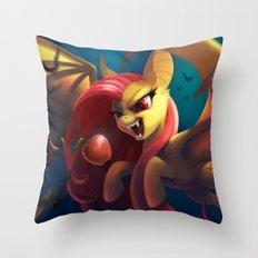 Kind Bat Throw Pillow