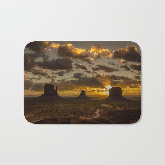 Monument Valley - Vivid Sunrise Bath Mat