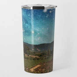 Starlit Vineyard II Travel Mug
