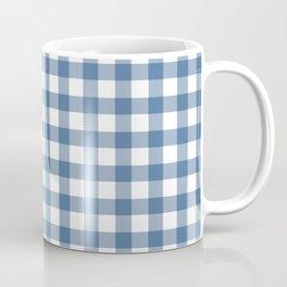 Gingham - Classic Blue Coffee Mug