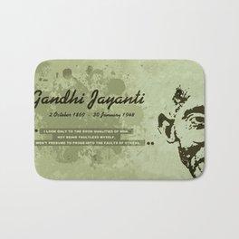 Mahatma Gandhi Jayanti Bath Mat