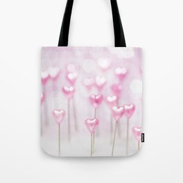 Pretty Pink Hearts Tote Bag