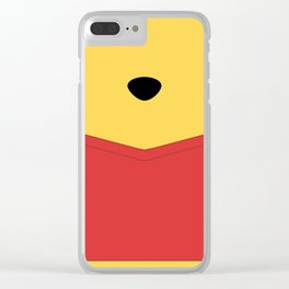 Rumbly in my tummy - Pooh Clear iPhone Case