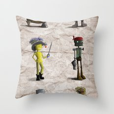 The Crew Throw Pillow