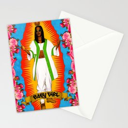 Lady Aaliyah Stationery Cards