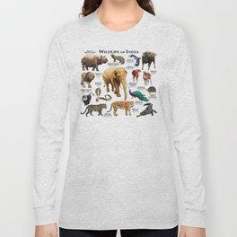 Wildlife of India Long Sleeve T-shirt