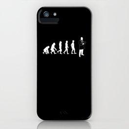 Evolution Doctor iPhone Case