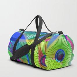 Bright Abstract Duffle Bag