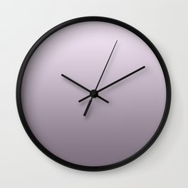 Lilac pearls Wall Clock