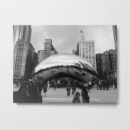 THE CHICAGO BEAN Metal Print