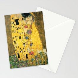 THE KISS - GUSTAV KLIMT Stationery Cards