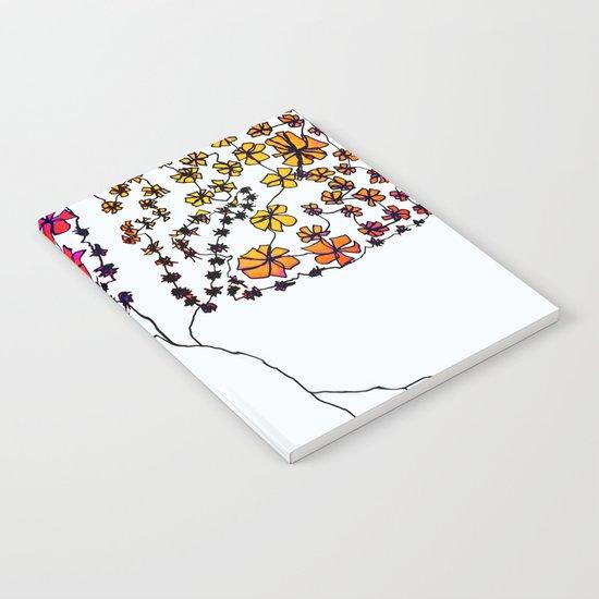 Wall Flowers Notebook