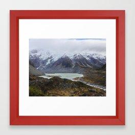 Mount Cook National Park Framed Art Print