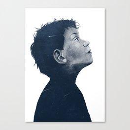 Space Boy Canvas Print