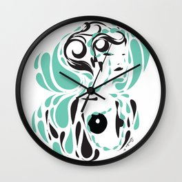 Love me, please love me - Emilie Record Wall Clock