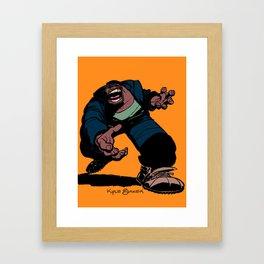 Big Joe Krash™ Framed Art Print