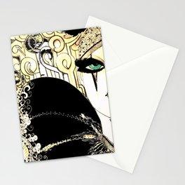 HIPPODROME HARLEQUIN PIERROT Stationery Cards