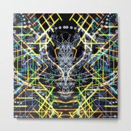 Trance Mechanics Metal Print