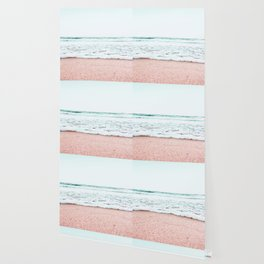 Pastel beach Wallpaper