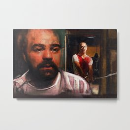 Escape From Sodom - Butch And Zed - Pulp Fiction Metal Print